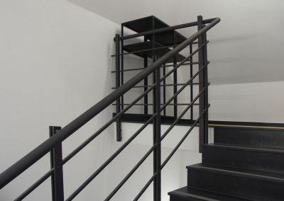 10 Custom steel handrails Europe metalwork