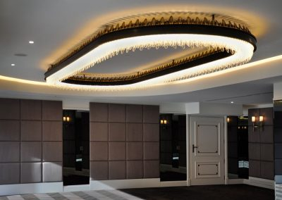 11 Custom made light fittings