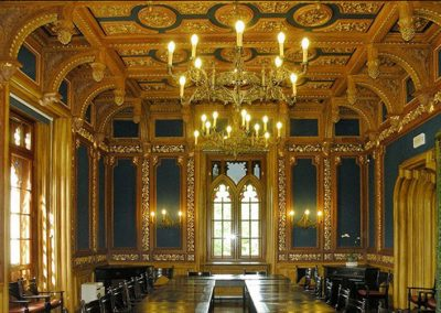 2 Brass chandeliers for caste palace church