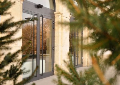 2 Heavy steel artistic tailor made doors