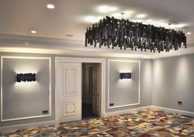 22 Implementation of the lighting project in the hotel