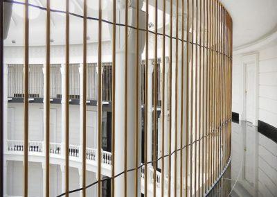 4 Brass safety wall