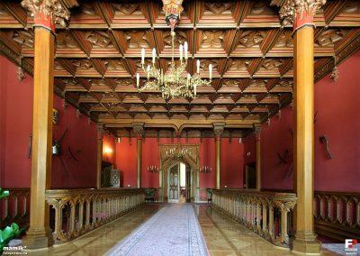 5 Custom brass lighting for historical building