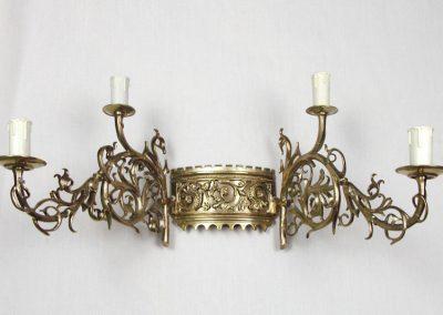 6 Artisctic brass lighting