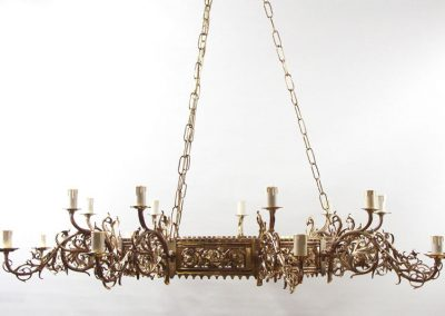 7 Brass metalwork and custom lighting