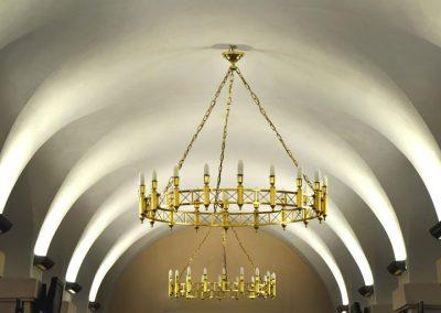 7 Custom lighting for public bulidings