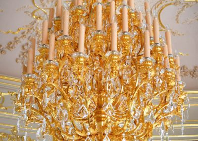 8 Classic artistic cristal chandeliers