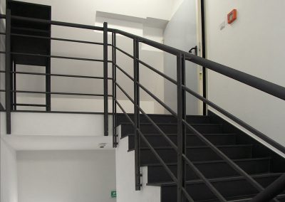 9 Custom steel balustrades Europe metalwork
