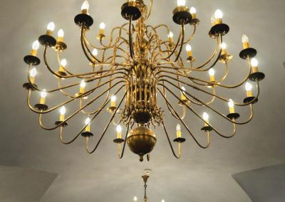 9 Multi-armed brass chandeliers made for orders