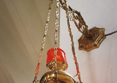 Tailor made church brass elements