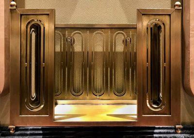 2. Recznie wykonany mosiezny pojemnik ozdobny na zamowienie
